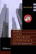 Power Good Corporate Governance, The: Teori dan Implementasi