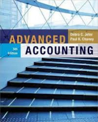 Image of Advanced accounting